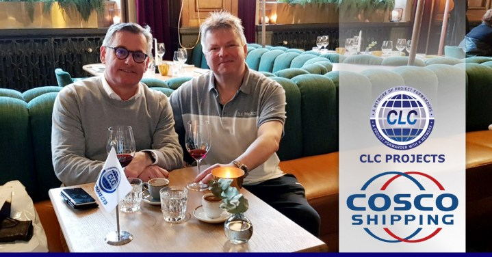 CLC Projects Network Chairman met with COSCO in Gothenburg, Sweden.
