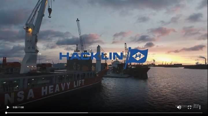 Hacklin Logistics was involved in the delivery of 4 x Mantsinen 160ER and 2 x Mantsinen 70ER from Finland to Uruguay_800px
