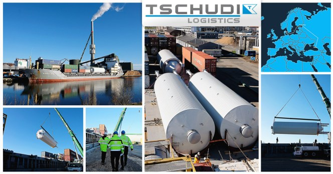 Tschudi Shipped Brewery Tanks from Denmark to Russia