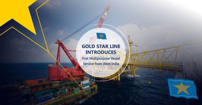 Gold Star Line Introduces a New Breakbulk Service to/from India