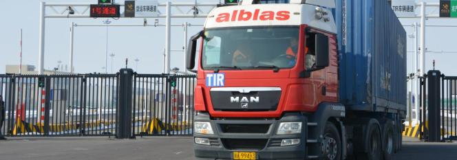 First TIR transport from Europe to China arrives in only 12 days