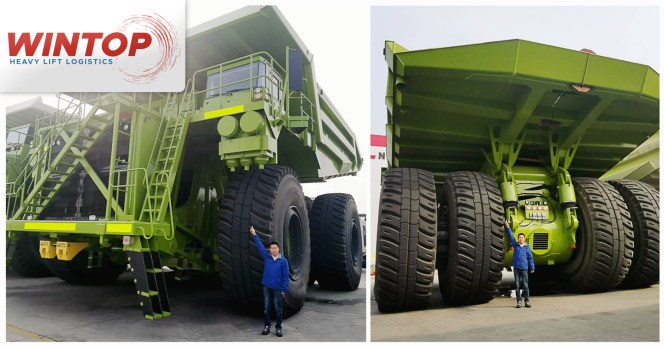 HK           Wintop Handled Large Dump Trucks for the Mining Industry-01