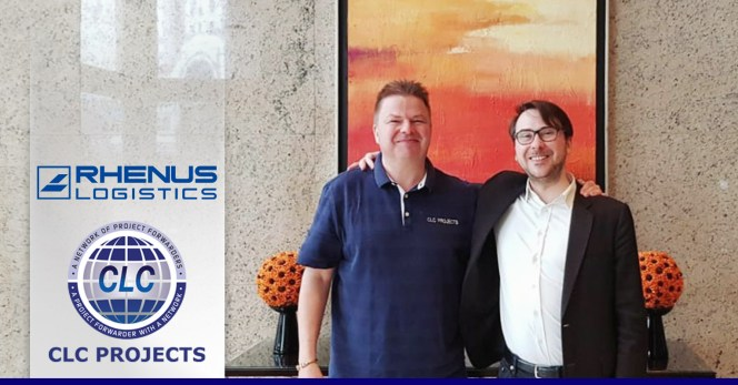CLC           Projects and Rhenus Project Logistics Shanghai
