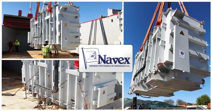 Navex Handled a Breakbulk Shipment of Transformers FOB LSD