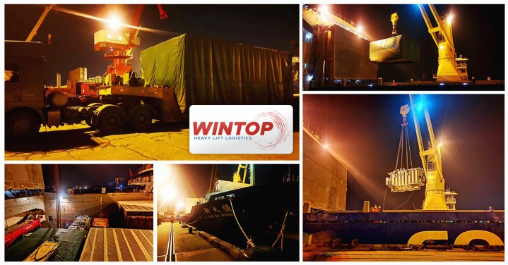 Wintop Heavy Lift Handled a Shipment from Shanghai to Ho Chi Minh