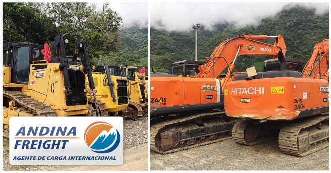 Andina is Handling Equipment Going to Italy Ukraine and some to Iran