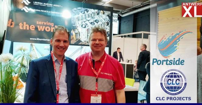 Bo Drewsen met with Bas de Vaal of Portside Ghana at AntwerpXL