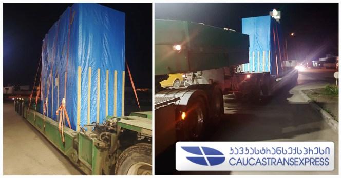CaucastransExpress Handled OOG Cargo from Uzbekistan