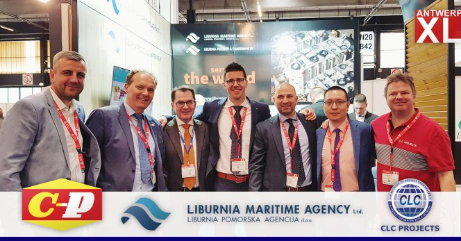 Chipolbrok, Liburnia and CLC Projects met at AntwerpXL