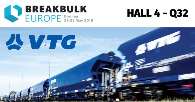 VTG Project Logistics will have its own booth at this year's Breakbulk fair