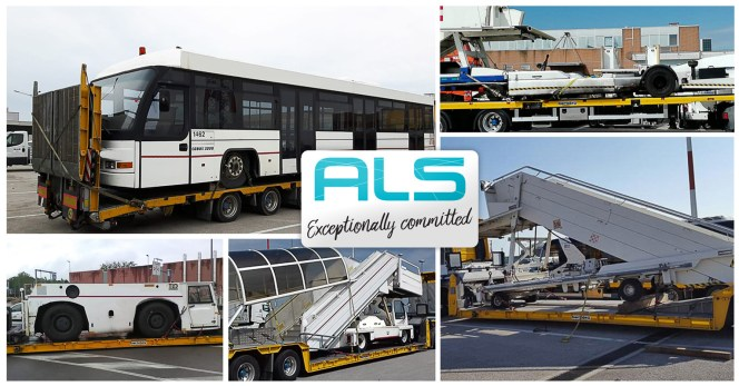 ALS Recently Moved Airport Systems, Machinery and Vehicles from Airports within Italy and also from Spain to Italy