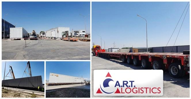 ART Logistics Loading Project Cargo in Kazakhstan for KPO (Karachaganak Petroleum)