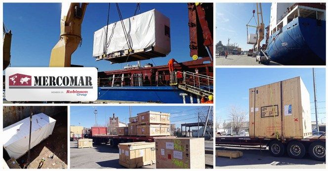 Mercomar Handled Project Cargo From Antwerp to Buenos Aires