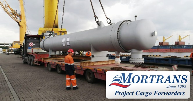 Mortrans Handled An Inbound Breakbulk Piece In St Petersburg