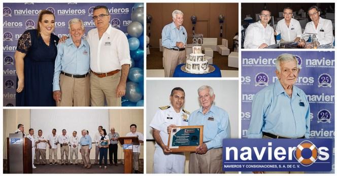 Navieros Mexico Celebrates 25 Years