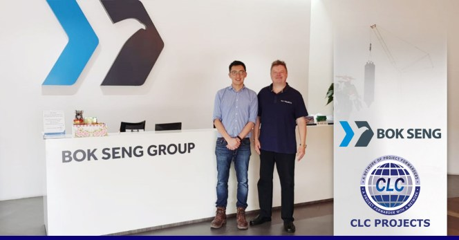 CLC Projects met with Bok Seng Group in Singapore
