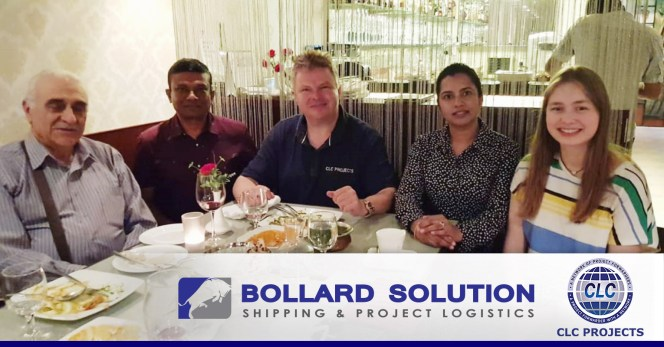 CLC Projects met with Bollard Solution in Singapore