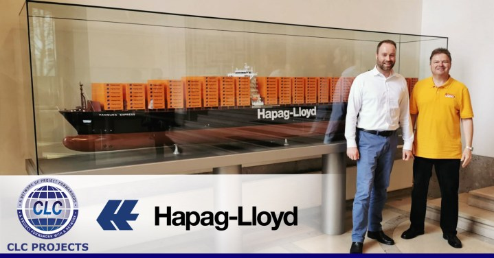 CLC Projects and Hapag-Lloyd at their Head Office in Hamburg