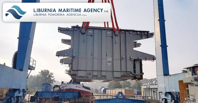 Liburnia Maritime Agency Transports 7x96t transformers + components from Linz, Austria over Rotterdam Port to Trincomalee, Sri Lanka