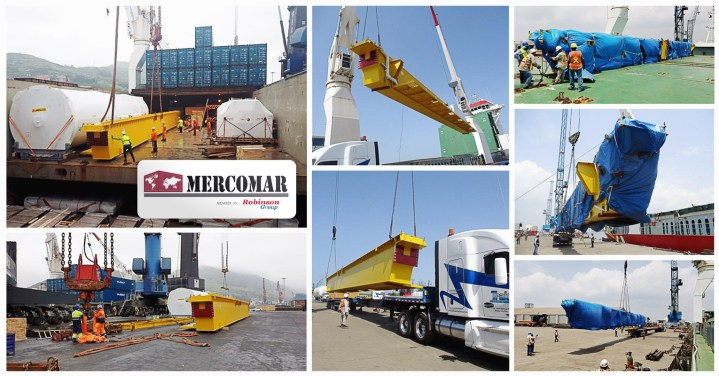 Mercomar Handled the 2nd Delivery of Equipment From Blibao to Altamira for the Pesquerõa Project