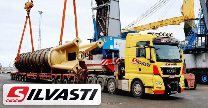 Silvasti Delivered a 117000 kg Pressure Diffuser