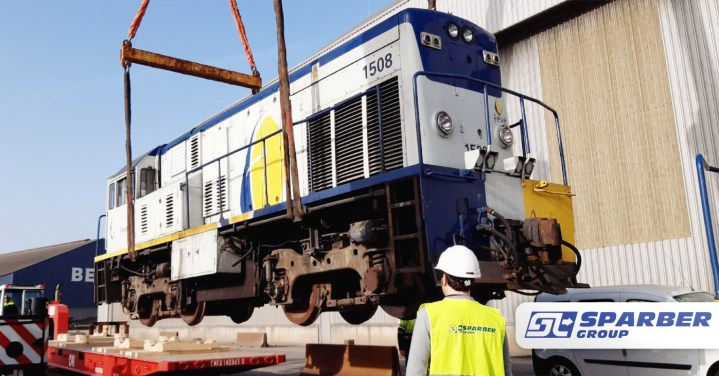 Sparber Group Completed A Total of 224 Tons of Locomotive
