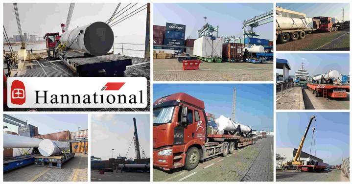 Hannational Shipped a Hydrohammer from Europe to a Shenzhen Shipyard