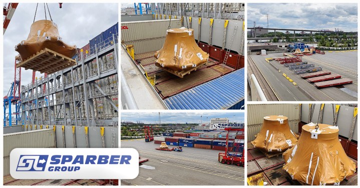 Sparber Group Handled a 112 Ton Project