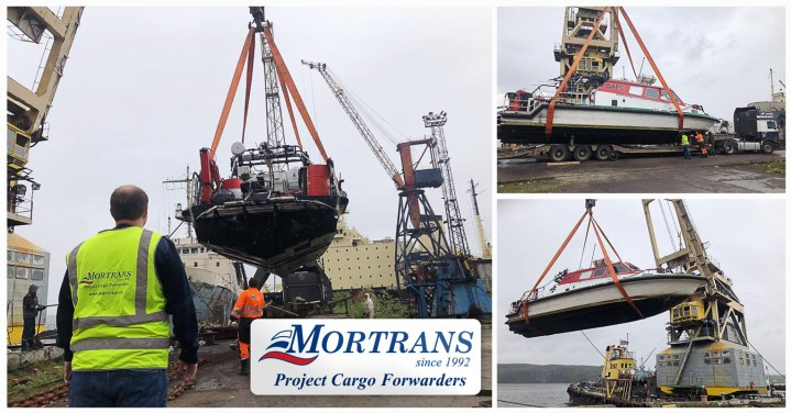 Mortrans Ltd. Russia Performed a Project Shipment from Murmansk Port to Yamburg Port (both in the Arctic area of North of Russia)
