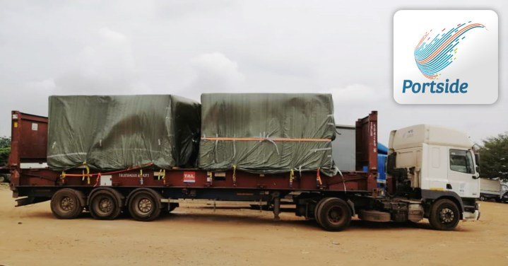 Portside Ghana Handled a Shipment Together with Scan Global Logistics for the UN