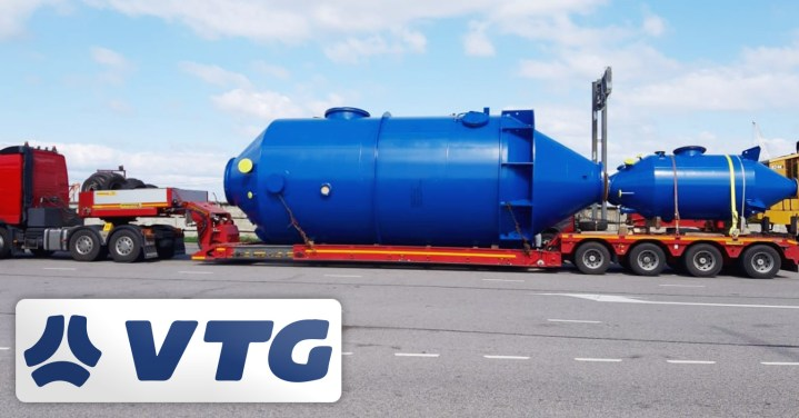 VTG Project Logistics in Germany and Russia Managed the Transportation of Heavy Goods for a Calcium Chloride Crystallisation Plant from Lübeck, Germany to Perm Krai, Russia