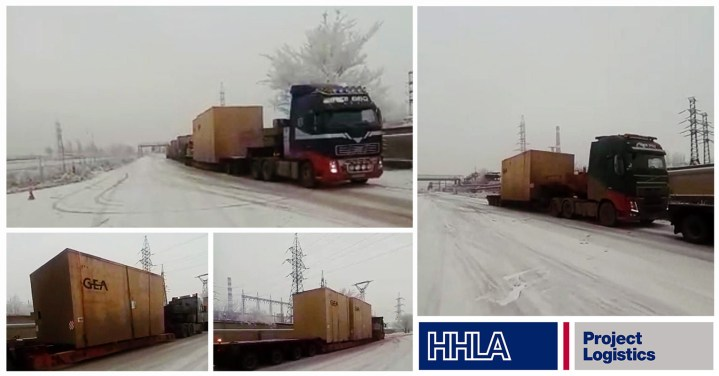 HHLA Handled Oversized Cargo in the Caucasus