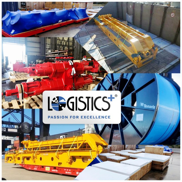 Logistics Plus Shipped BOPs, Catwalks and Coiled Tubings ex Houston