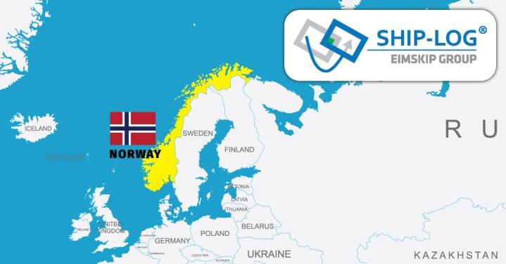New member representing Norway – SHIP-LOG AS