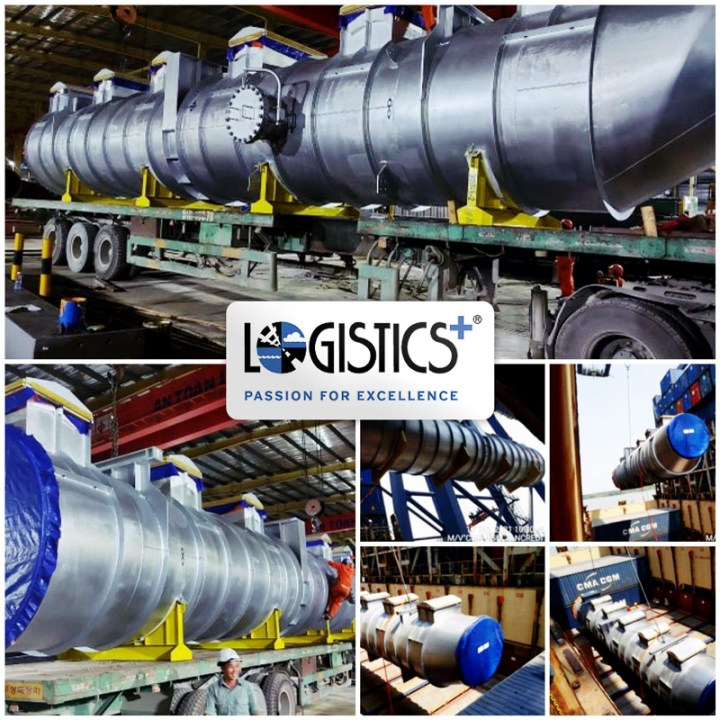 Logistics Plus Handled the First Shipments of a 1,250 Megawatt Natural Gas Fueled Combined Cycle Electric Generation Project ex Vietnam to the United States