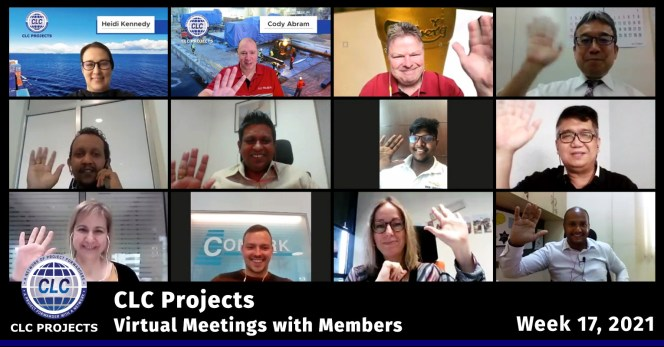 Week 17 Zoom Meetings Screenshot