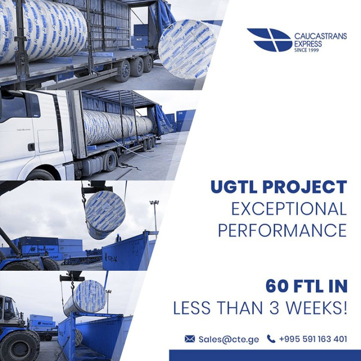Caucastransexpress Moved 60 FTLs in Under 3 Weeks for the Uzbekistan Gas-To-Liquids Plant