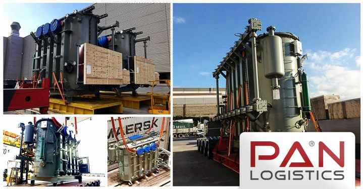 Pan Logistics Handled Transformers and Accessories from Gebze to Qingdao