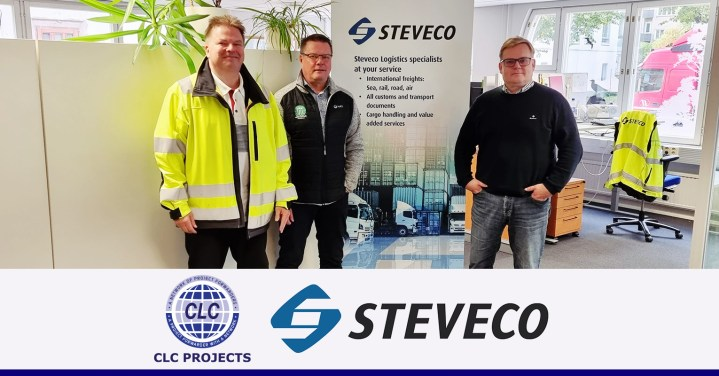 CLC Projects met with the managers at Finnish company Steveco Oy in PORT of Kotka, Finland. We surveyed the large port both for import and export and transit to/from Russia