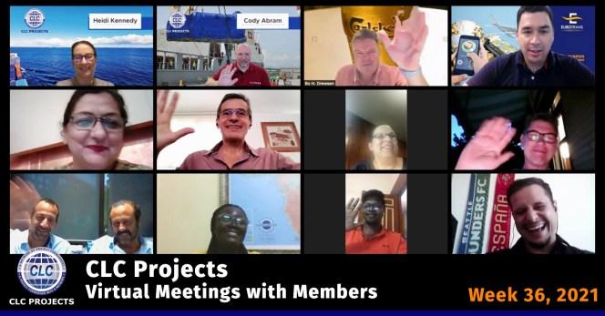 CLC Projects Meeting Screenshot 2