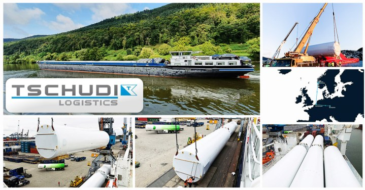 Tschudi Logistics Transported Brewery Tanks on Land, via River and Overseas from Germany to Norway