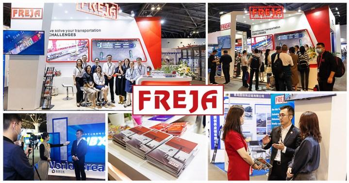 FREJA China Attended the World Breakbulk Exhibition in Shanghai
