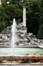 memorial fountain in Gorizia.