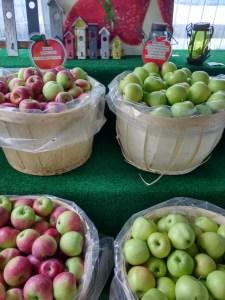 bushels of apples