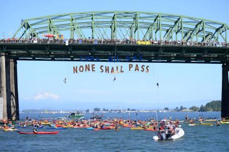 Port Block - Portland (Photo Credit: Portland Rising Tide)