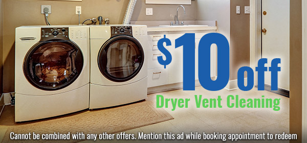 10Off dryer vent cleaning-coupon