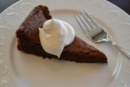Slice Chocolate Cake