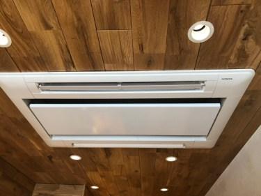 福岡市中央区で埋め込みタイプの業務用エアコンクリーニング