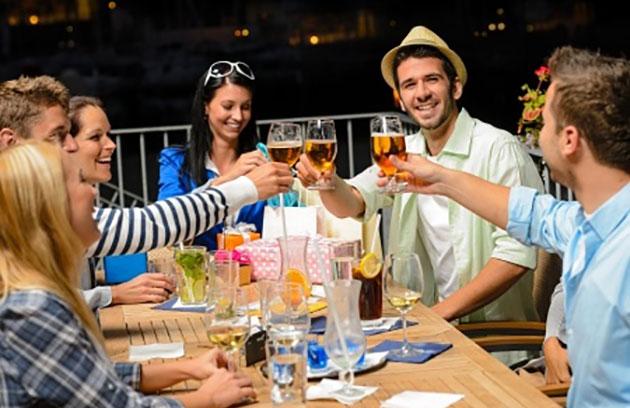 Beer makes you sociable