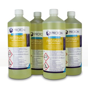 Proton Protinate Beer Line Cleaners